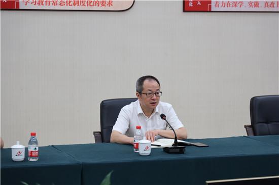 杨作军diao研会展中心党建+服务工作